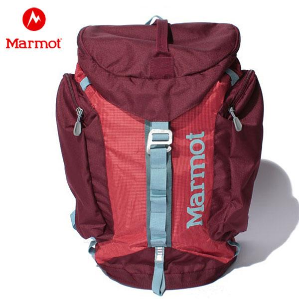 【あす楽対応】 マーモット バックパック メンズ レディース Rock Master Pack レッド M7B-S2337 Marmot