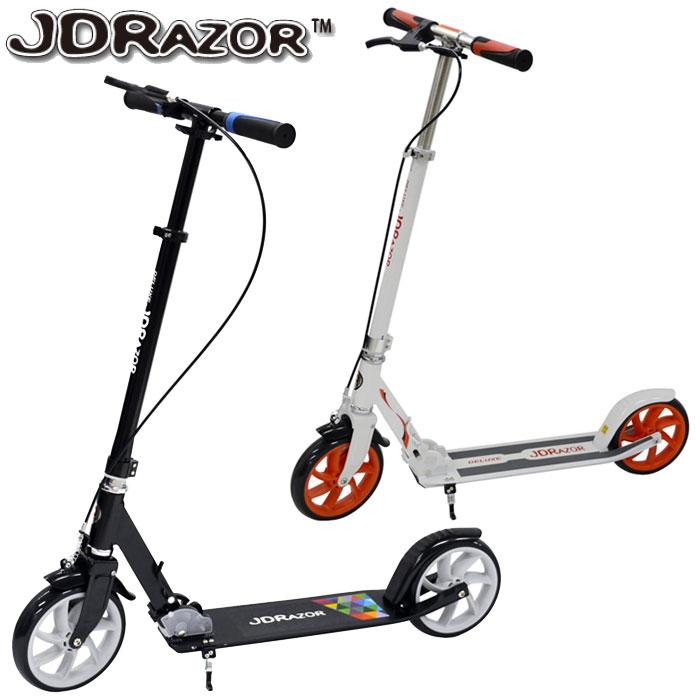 【あす楽対応】JD Razor MS-185B ジェイディレーザー MS-185B キックスクーター キックスケーター スタンド付き