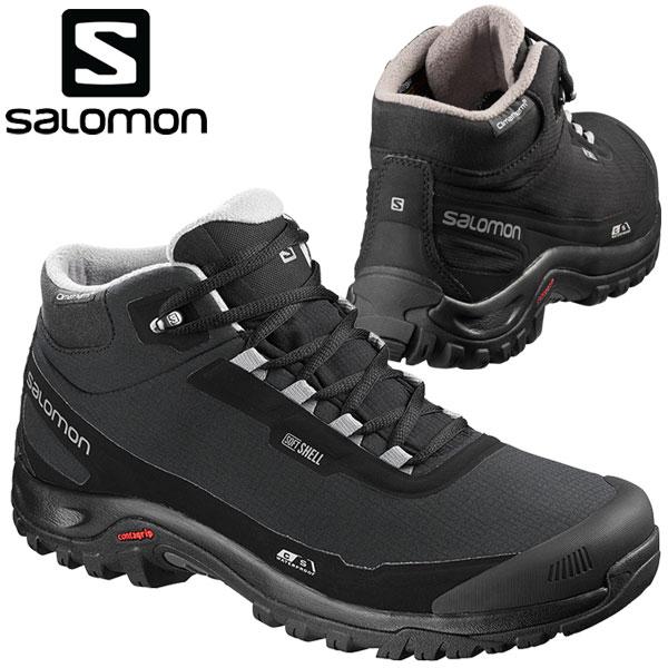 Salomon Men/'s Shelter Cs Imperméable Randonnée Hiver Noir Bottes L40472900