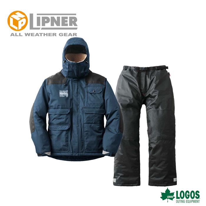 LIPNER リプナー タフ防水防寒スーツ フォルテ ネイビー 3036928 防水防寒ウェア メンズ