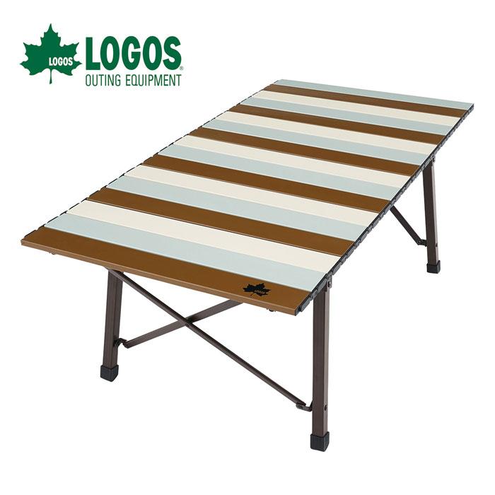 ロゴス LOGOS Life コンパクトローテーブル 10050(ヴィンテージ) 73185012