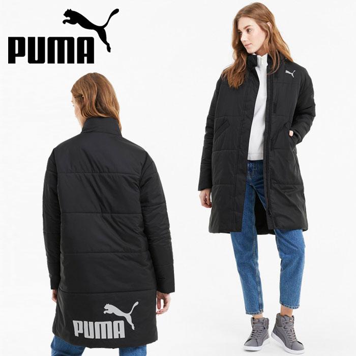 PUMA プーマ 2020 新作 ロングパテッドコート [正規販売店] ベンチコート レディース 585092-01