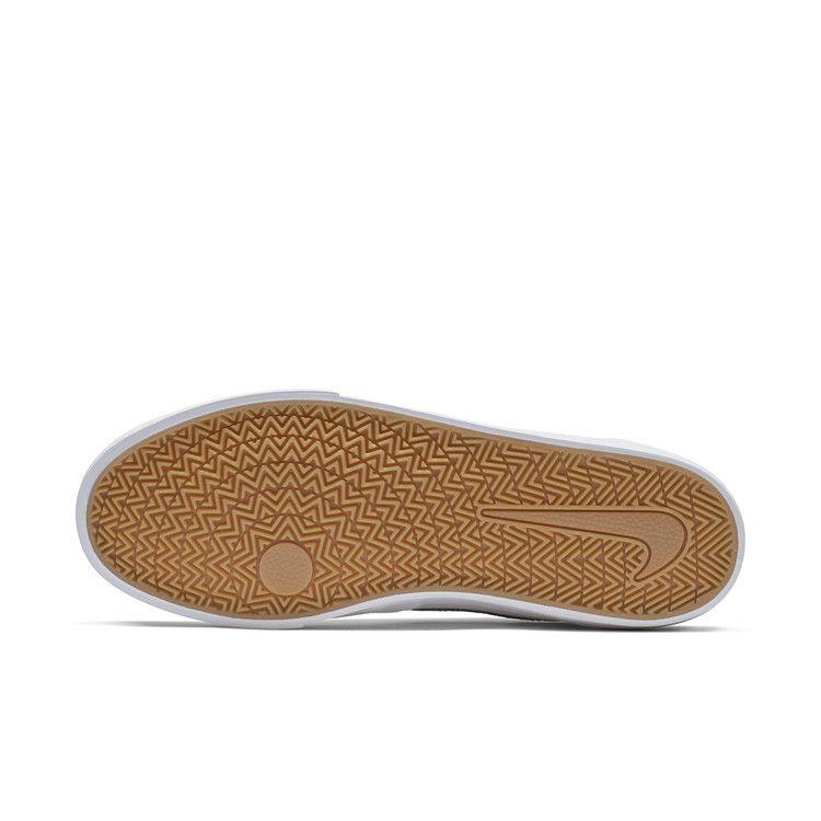 Nike SB Charge Solar WhiteBlackWhiteGumLight Brown