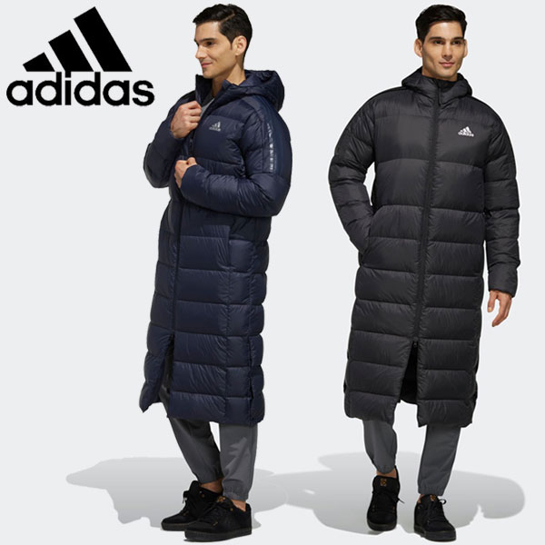 adidas 【あす楽対応】アディダス BOS Long Light Down Parka ダウンジャケット メンズ GDT78