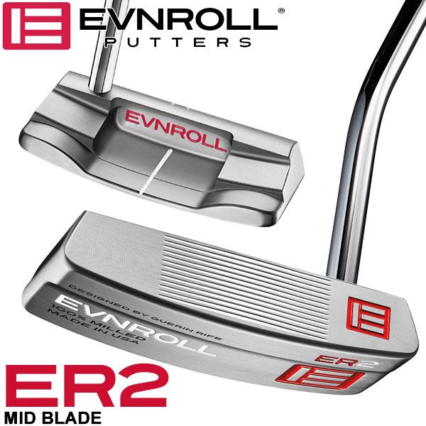イーブンロール パター ER2 ミッドブレード EVNROLL ベストオブベストパター 日本正規品