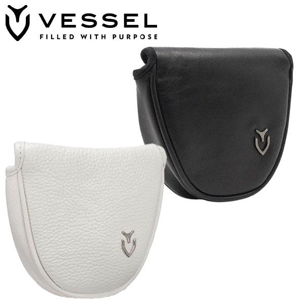 VESSEL ベゼル ベゼル ゴルフ ジェニュイン レザー パターカバー HC2217 マレットタイプ