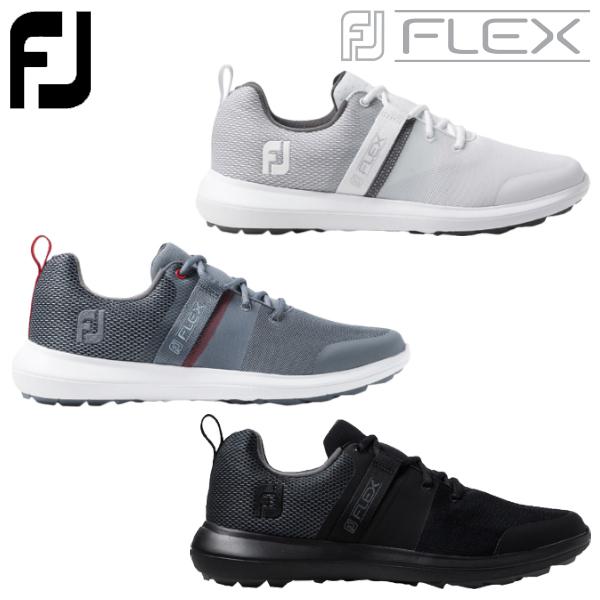 Footjoy 配送員設置送料無料 フットジョイ ゴルフ エフジェイ フレックス スパイクレス 2020モデル ゴルフシューズ シューレース 公式ストア メンズ