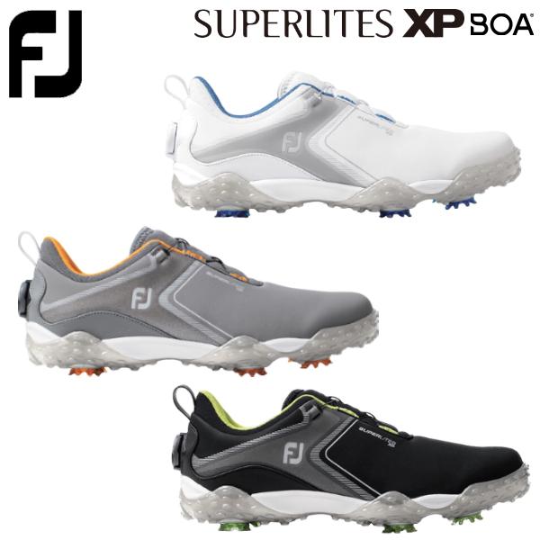 Footjoy フットジョイ フットジョイ ゴルフ スーパーライト エックスピー ボア メンズ ゴルフシューズ 2020モデル Boa ソフトスパイク