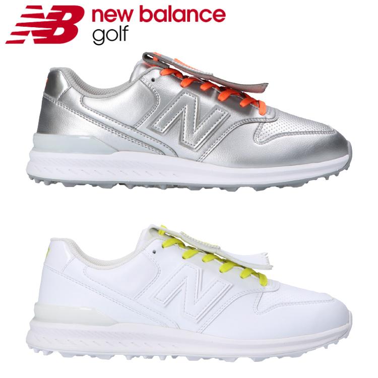 new balance GOLF ニューバランスゴルフ あす楽対応 売買 ニューバランス ゴルフ スパイクレス レディース 受注生産品 2021モデル 日本正規品 ゴルフシューズ WGS996 シューレース