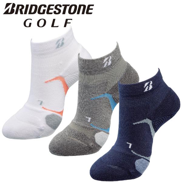 再販ご予約限定送料無料 BRIDGESTONE ブリヂストン メール便対応 入手困難 ゴルフ ハイパーソックス 3Dソックスベーシック 靴下 アンクル丈 SOG152 レディース 2021モデル
