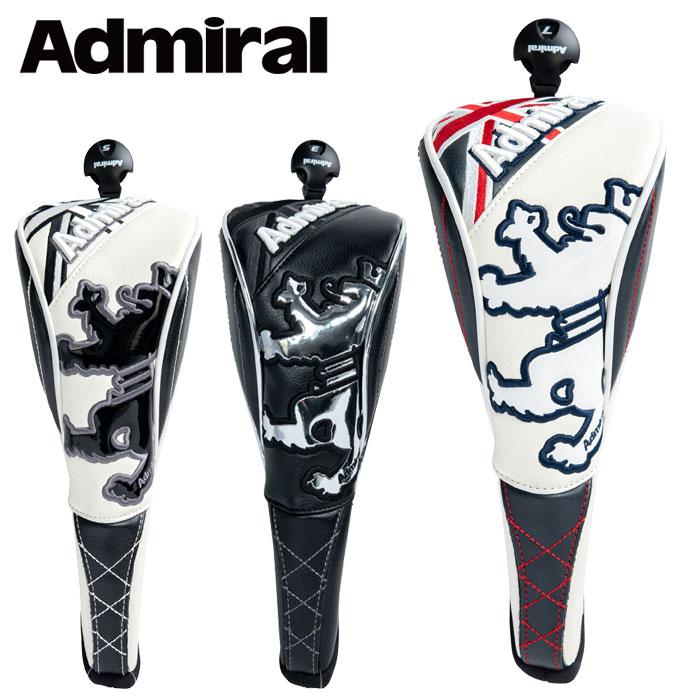 Admiral 上等 Golf あす楽対応 アドミラル 入手困難 ADMG1BH5 スポーツ ゴルフ フェアウェイ用ヘッドカバー