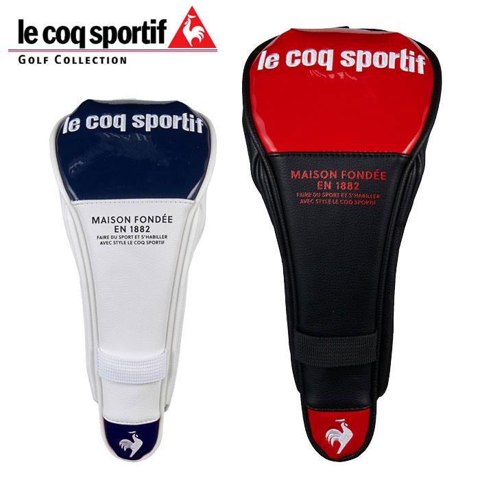 le coq sportif 信託 golf あす楽対応 ルコック QQBSJG30 フェアウェイ用ヘッドカバー ゴルフ 宅配便送料無料