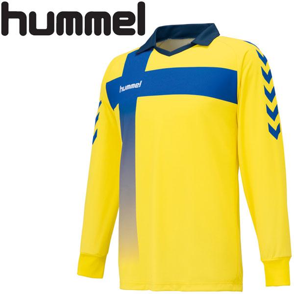 hummel メール便対応 ヒュンメル 保証 ハンドボール キーパーシャツ メンズ HAK1015-30 セール 登場から人気沸騰