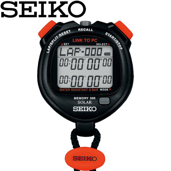 SEIKO セイコー いよいよ人気ブランド ストップウォッチ SVAJ701 レビューを書けば送料当店負担 NFCデータ通信機能つきソーラーストップウオッチ