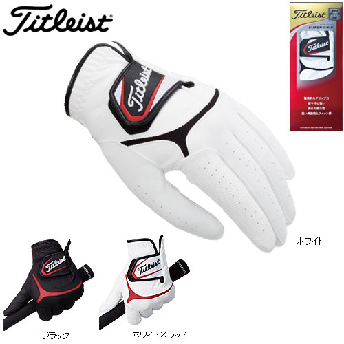 Shopping marathon point up to 35 times (8/5( soil) 20:00 ~)◇ Titleist supermarket grip golf glove TG37 right-handed person (for the left hand) Titleist Japan specifications