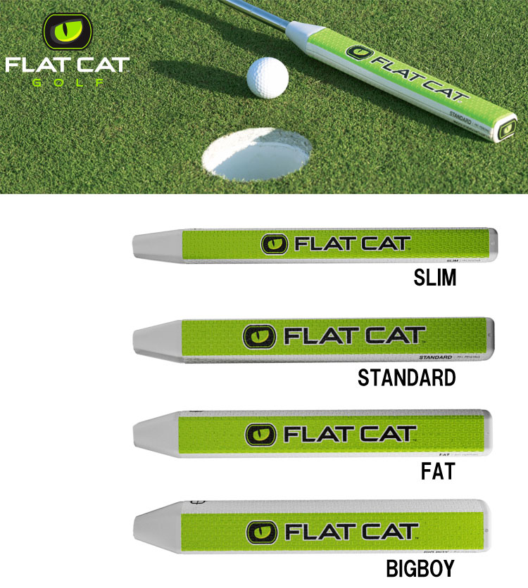 Shopping marathon point up to 35 times (8/5( soil) 20:00 ...) flat cat putter grip FLAT CAT GOLF