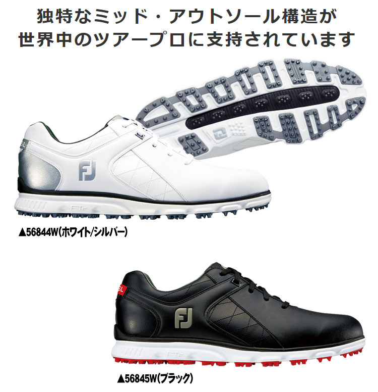 Professional player shopping marathon point up to 35 times (8/5( soil) 20:00 ...) foot Joey SL golf shoes FOOTJOY PRO SL 2017 model