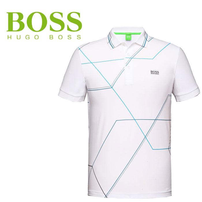 购物马拉松点数最大的35倍的(8/5(星期六)20:00~)HUGO BOSS(Hugo老板)短袖开领短袖衬衫Paule 2 50291906-100老板绿色