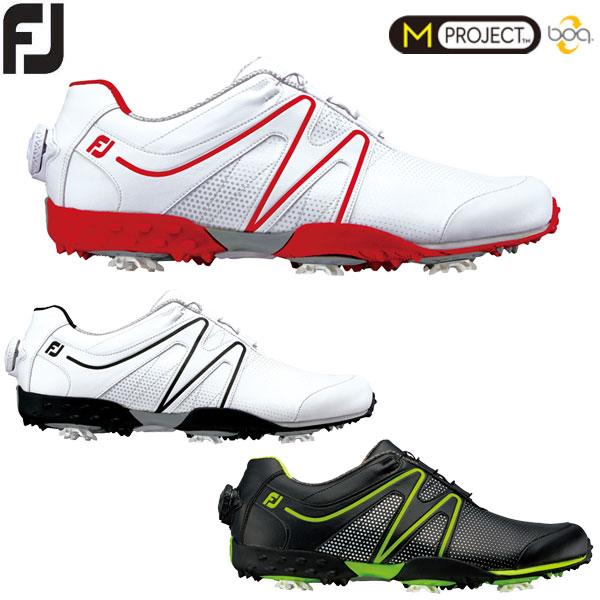 フットジョイ M PROJECT メンズ ボア ゴルフシューズ Boa Mプロジェクト