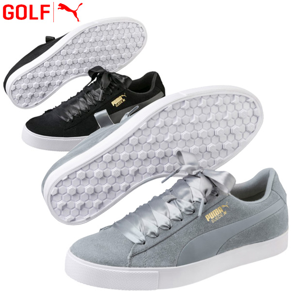 aina suosittu lenkkarit hullu hinta Puma golf shoes Lady's suede cloth G Wmns Suede G Wmns 191206 spikes reply