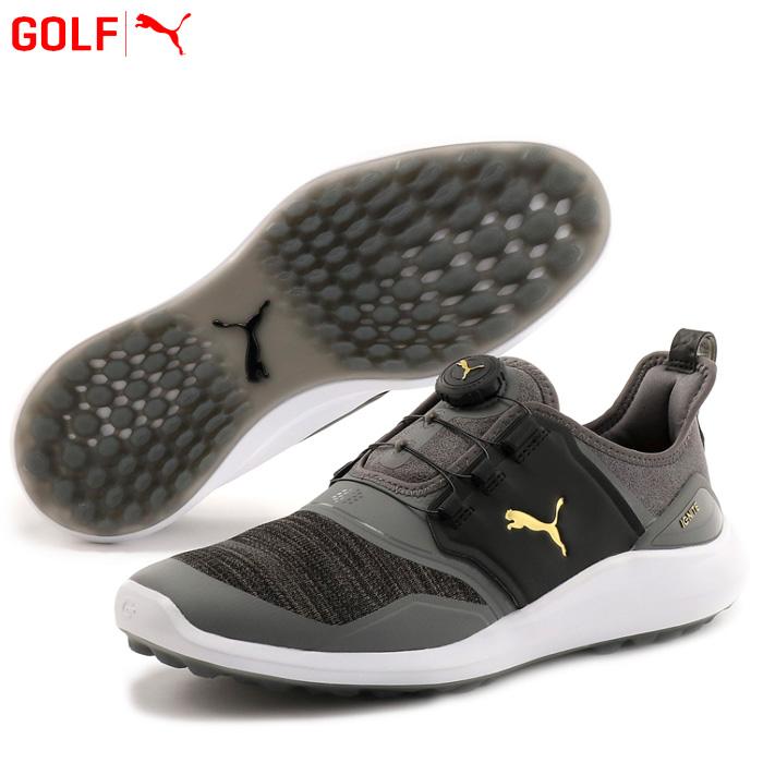 プーマ ゴルフシューズ メンズ ゴルフ イグナイト NXT ディスク 192245 02 2019年モデル スパイクレス