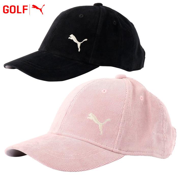 5d7c67a50d Puma golf Lady's women corduroy cap hat 866482 2018 fall and winter