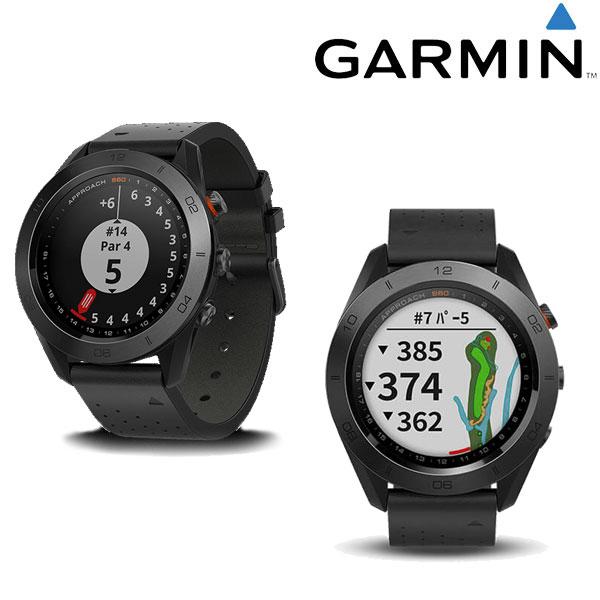 【あす楽対応】ガーミン GARMIN 腕時計型GPSゴルフナビ アプローチ S60 プレミアム ブラック Approach S60 日本正規品【GPSウォッチタイプ】