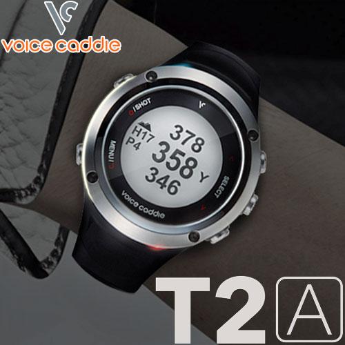 【お買い物マラソン全品10%OFFクーポン発行中!!有効期間:7/19(月)20:00~7/20(火)01:59迄】【あす楽対応】 ボイスキャディ T2A GPSゴルフナビ 腕時計タイプ Voice Caddie T2A 【GPSウォッチタイプ】