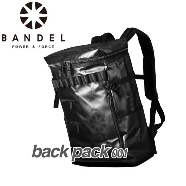 【ポイント最大43倍:9月11日(火)AM 1:59迄】バンデル バックパック 001 ブラック×ブラック