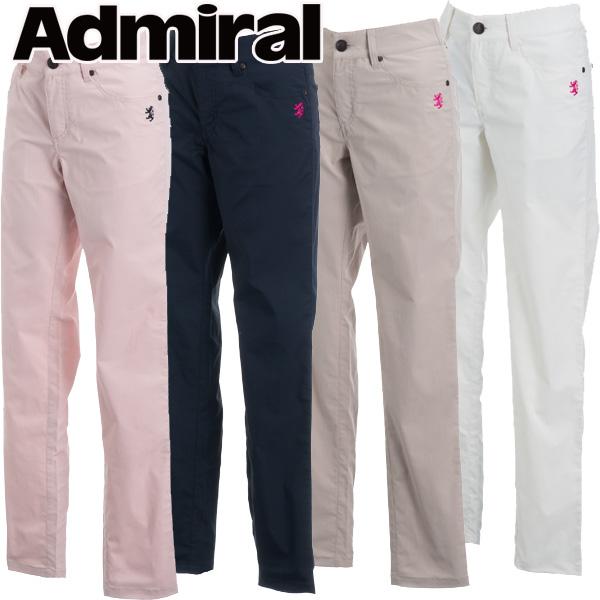 【あす楽対応】アドミラル ゴルフウェア レディース ストレートパンツ ADLA812 2018春夏
