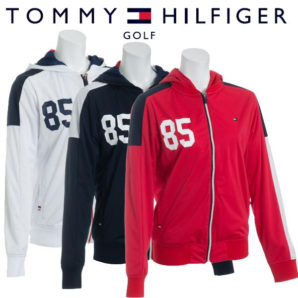 【あす楽対応】トミーヒルフィガー ゴルフウェア レディース ジャケット THLA801 2018秋冬 継続