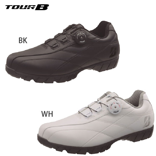 ブリヂストンゴルフ TOUR B ゼロ スパイク バイター ワイド ゴルフシューズ メンズ SHG880