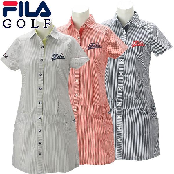 【あす楽対応】フィラ ゴルフウェア レディース ワンピース 758-441 2018春夏