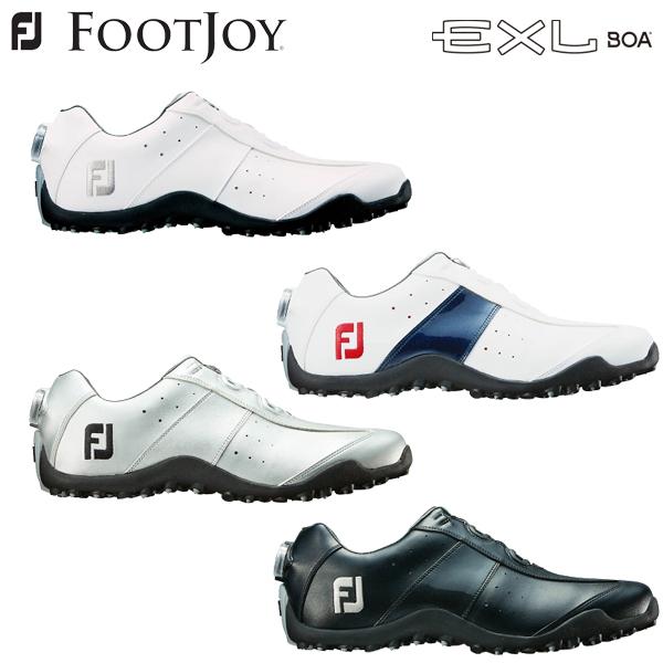 フットジョイ イーエックスエル スパイクレス ボア メンズ ゴルフシューズ EXL SL BOA 2018モデル