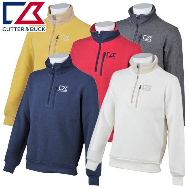 【あす楽対応】カッター&バック ゴルフウェア メンズ 長袖シャツ CGMMJL52 CUTTER&BUCK 2018秋冬