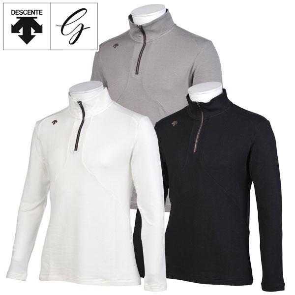 【あす楽対応】デサントゴルフ ゴルフウェア メンズ ロングスリーブシャツ DGMMJB11 2018秋冬