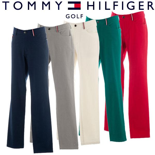 【あす楽対応】トミーヒルフィガー ゴルフウェア メンズ ロングパンツ THMA879 2018秋冬