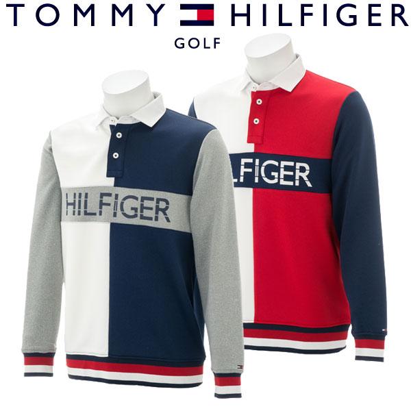 【あす楽対応】トミーヒルフィガー ゴルフウェア メンズ スウェットシャツ THMA883 2018秋冬