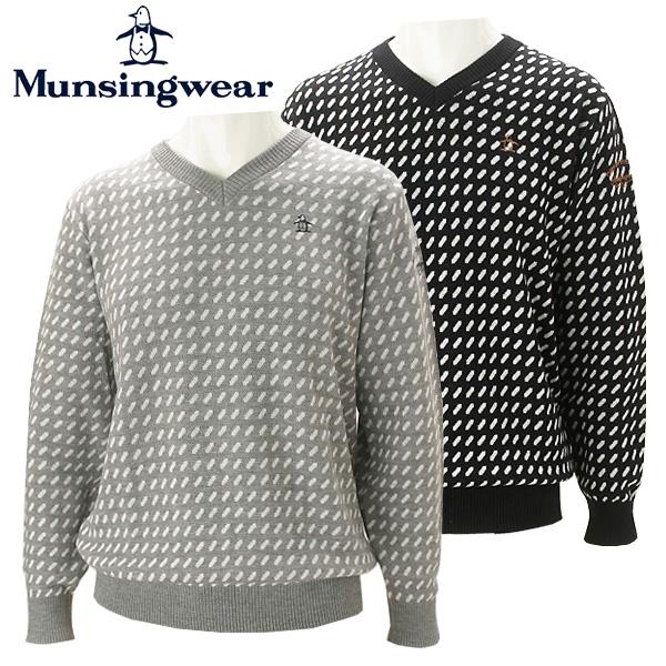 【あす楽対応】マンシングウェア ゴルフウェア メンズ セーター MGMMJL15 Munsingwear 2018秋冬