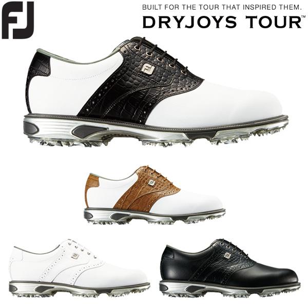 フットジョイ ゴルフシューズ メンズ DRYJOYS TOUR Lace ドライジョイズ ツアー 紐タイプ 2018年モデル ソフトスパイク