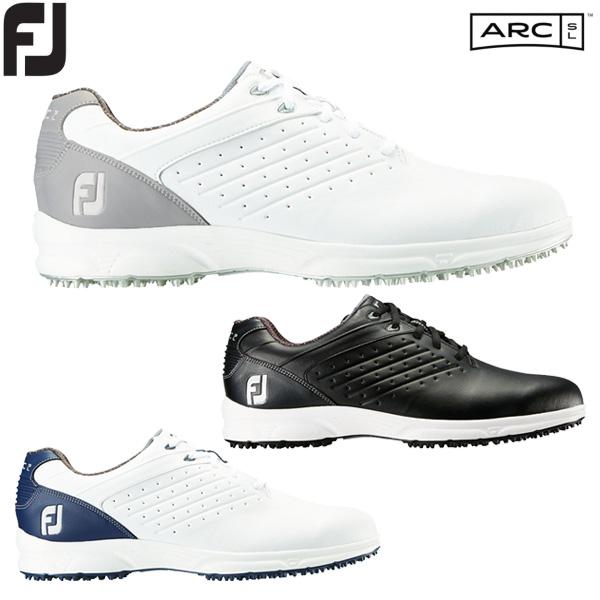 【送料無料】フットジョイ ゴルフシューズ メンズ FJ ARC SL Lace エーアールシー エスエル 紐タイプ 2018年モデル スパイクレス
