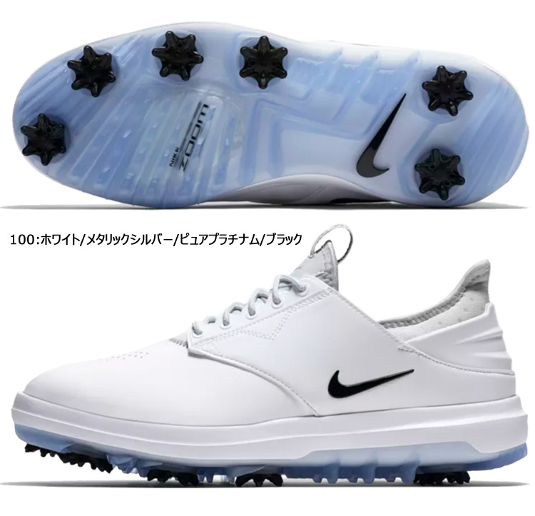 ☆Nike golf shoes men air zoom direct wide 923,966 100 18FA software spikes