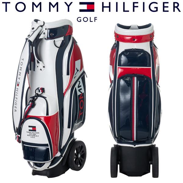 【あす楽対応】トミーヒルフィガー ゴルフ キャディバッグ 9型 THMG9SC2 2019春夏