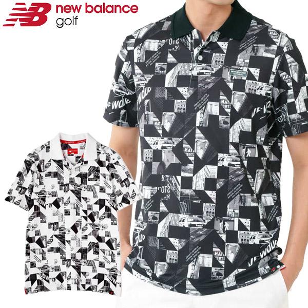【あす楽対応】ニューバランス ゴルフウェア メンズ ポロシャツ 012-9160007 2019春夏