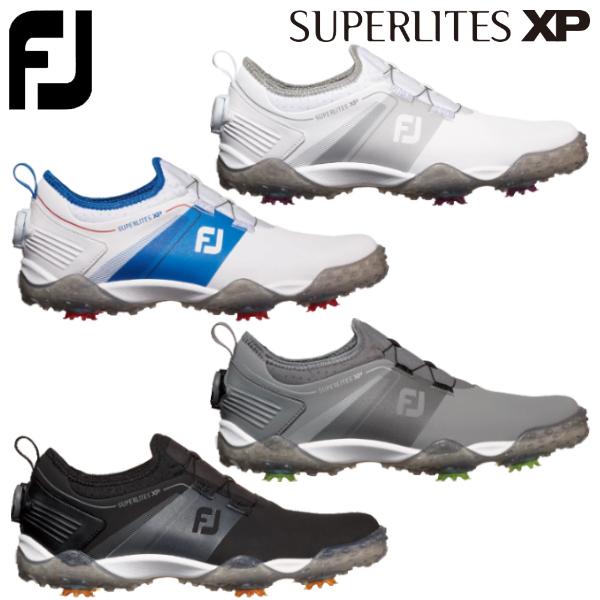 【あす楽対応】フットジョイ ゴルフ スーパーライト XP メンズ ゴルフシューズ ボア 2019年モデル ソフトスパイク