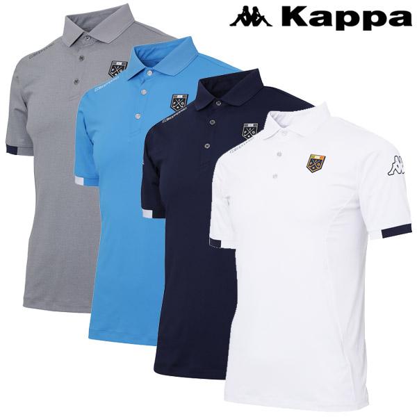 【あす楽対応】カッパ ゴルフウェア 半袖ポロシャツ メンズ KG912SS22 2019春夏