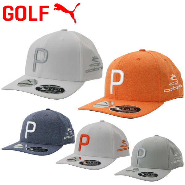 5d782f97 Puma golf P110 snapback cap with cobra mark hat 021448 2019 USA model ...