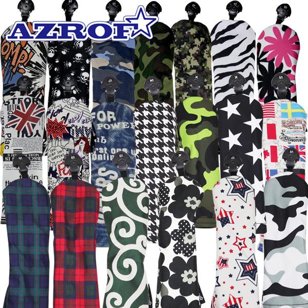 AZROF ☆新作入荷☆新品 アズロフ トレンド AZSHC02F ゴルフ フェアウェイウッド用 AZ-SHC02F スタイルヘッドカバー