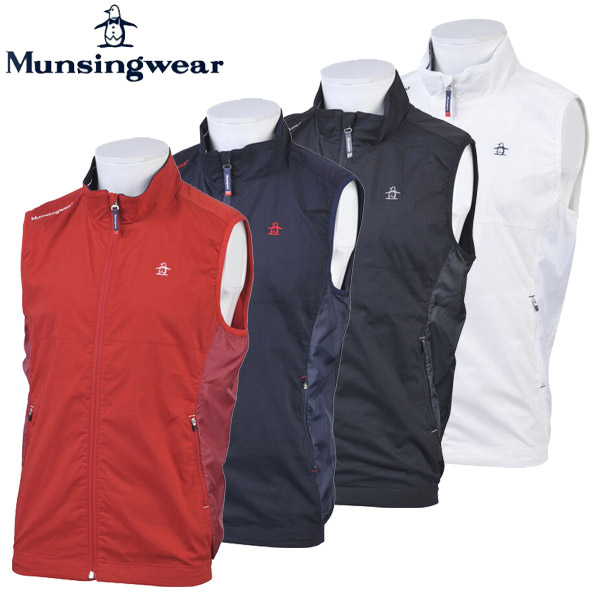 【あす楽対応】マンシングウェア ゴルフウェア メンズ アウターベスト MGMOJK51 Munsingwear 2019秋冬