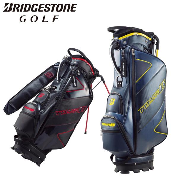 ブリヂストン ゴルフ TOURB キャディバッグ セルフクラブスタンド付スタンドバッグ(9.5型) メンズ CBG011 2019モデル